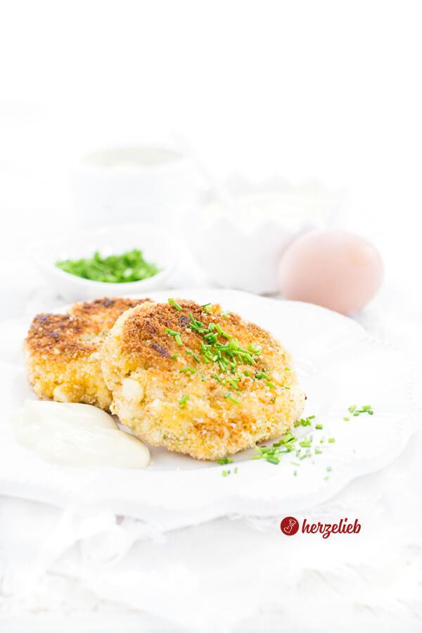Eierfrikadellen Rezept – vegetarische Hausmannskost