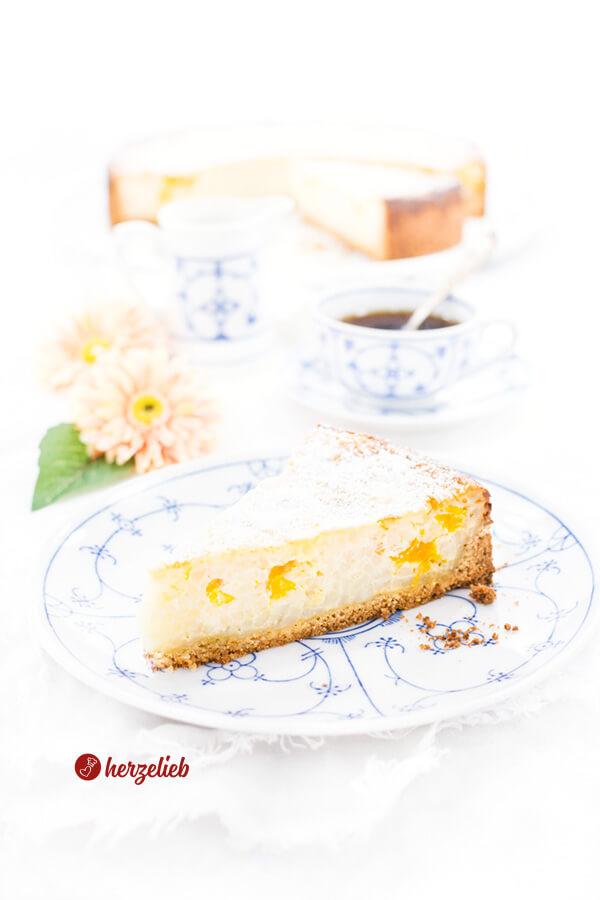 Milchreiskuchen Rezept – der Kuchen für die Seele!