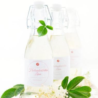 3 Flaschen Holunderblütenlikör