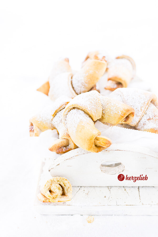 Kartoffelhörnchen gefüllt