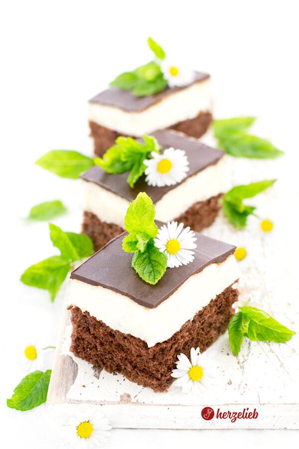 Isbitar - Eiswürfel Schokoladenkuchen