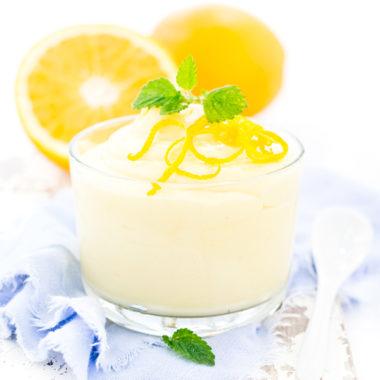 Fruchtiges Orangencreme Dessert von herzelieb
