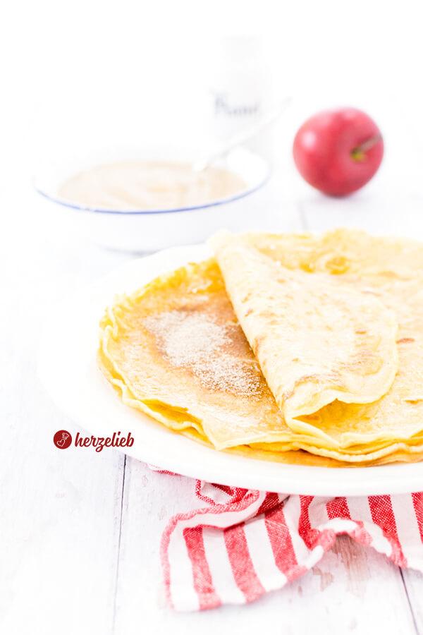 Pfannkuchen wie von Oma ganz klassisch und einfach