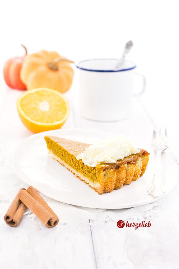 Pumpkin Pie Rezept – back ganz einfach den besten Kürbiskuchen der Welt!