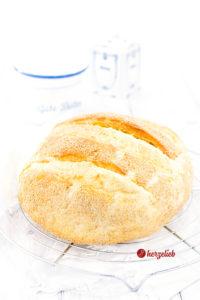 Dänisches Franskbrød aus dem Topf von herzelieb. Rezept mit weißem Mohn. Ein einfaches Weißbrot aus Dänemark, dass jeder kennt und liebt. Einfach & lecker