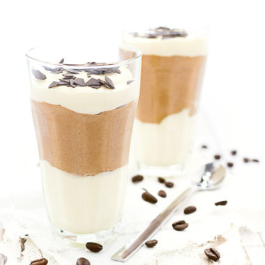 Latte-Macchiato-Dessert für Nachtisch Fans und Kaffee-Liebhaber! Gut vorzubereiten und auch was fürs Auge. Ein ungewöhnlicher Nachtisch.