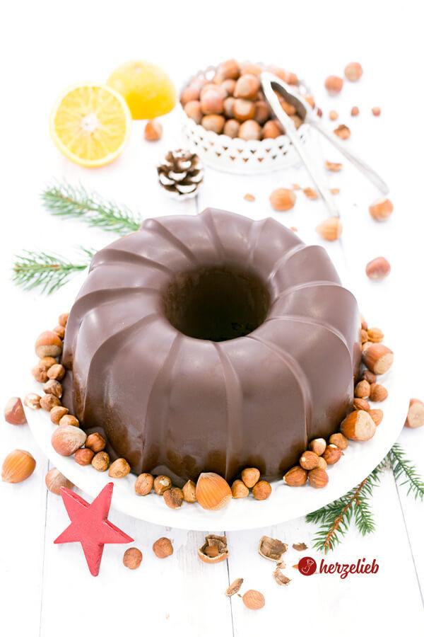 Lebkuchen mit der perfekten Schokoladenglasur