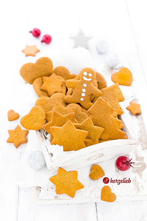 Lebkuchen Kekse – Rezept für schwedische Pepparkakor