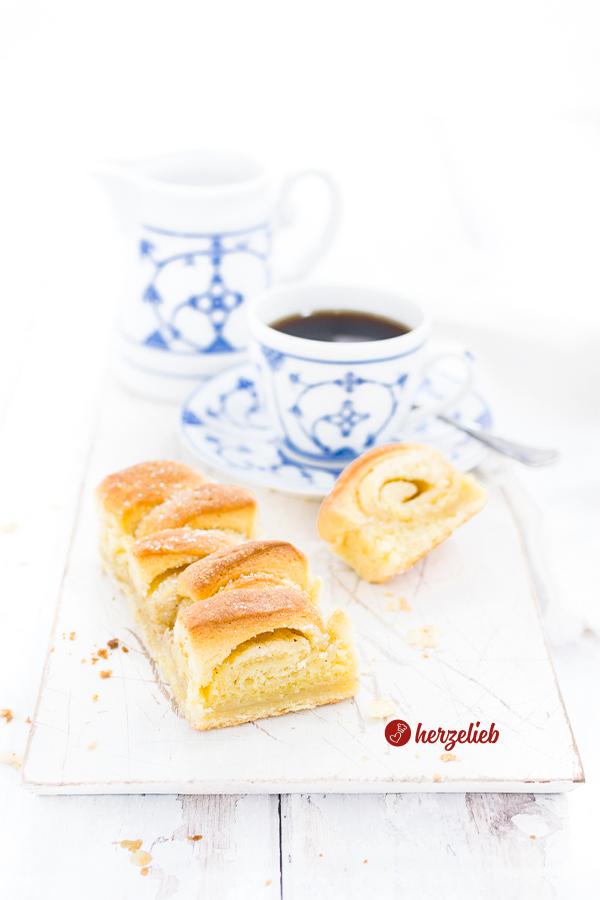 H. C. Andersen kage Butterkuchen aus Dänemark