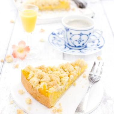Eierlikör-Streuselkuchen mit Kaffee, Eierlikör von herzelieb