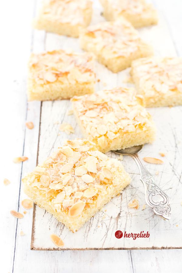 Schmandbutterkuchen Rezept der Butterkuchen ohne Hefe von herzelieb