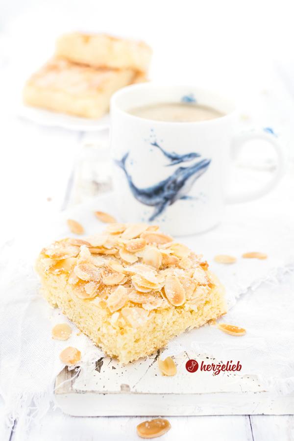 Schmandbutterkuchen Rezeptt - Butterkuchen mit Schmand