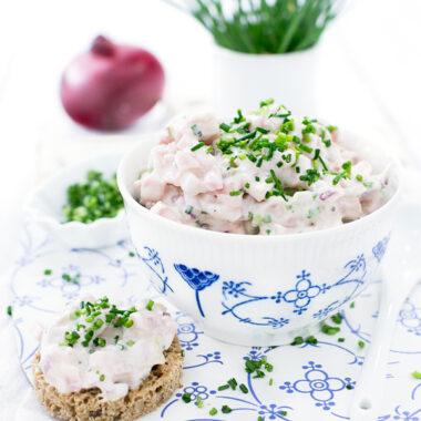 Skinkesalat Rezept aus Dänemark von herzelieb