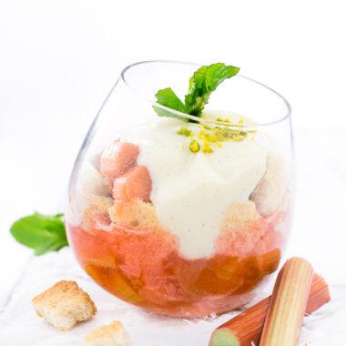 Rhabarber Dessert Rezept Rhabarberträumchen