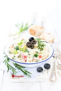 Rezept Griechischer Nudelsalat von herzelieb