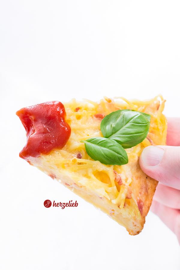 Spaghetti Pizza Rezept von herzelieb. Spaghetti Frittata