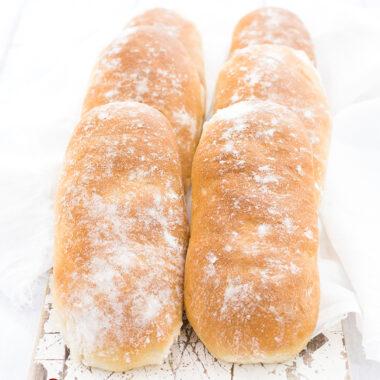6 Mini-Sandwichbrote von herzelieb