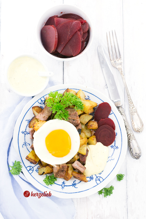 Biksemad aus Dänemark zum Mittagessen Rezept von herzelieb