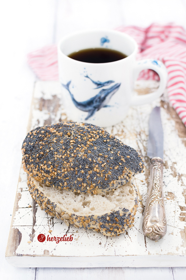 Skagenslapper Rezept von herzelieb - dänische Brötchen