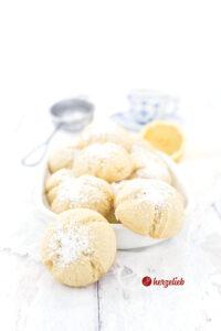Zitronenmoppies, Zitronenkekse oder Zitronenplätzchen von herzelieb