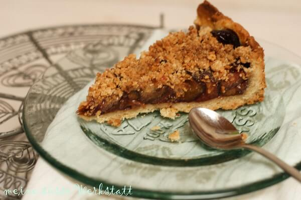 Amarettini-Zwetschgen Kuchen von süße Werkstatt