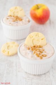 Apfelstrudel-Dip, ein Rezept für Eilige. Einfach, schnell und gut!