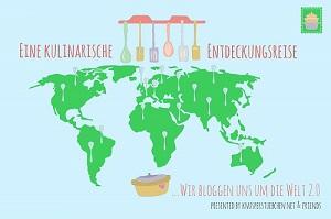 Das Banner zum Bloggerevent kulinarische Entdeckungsreise