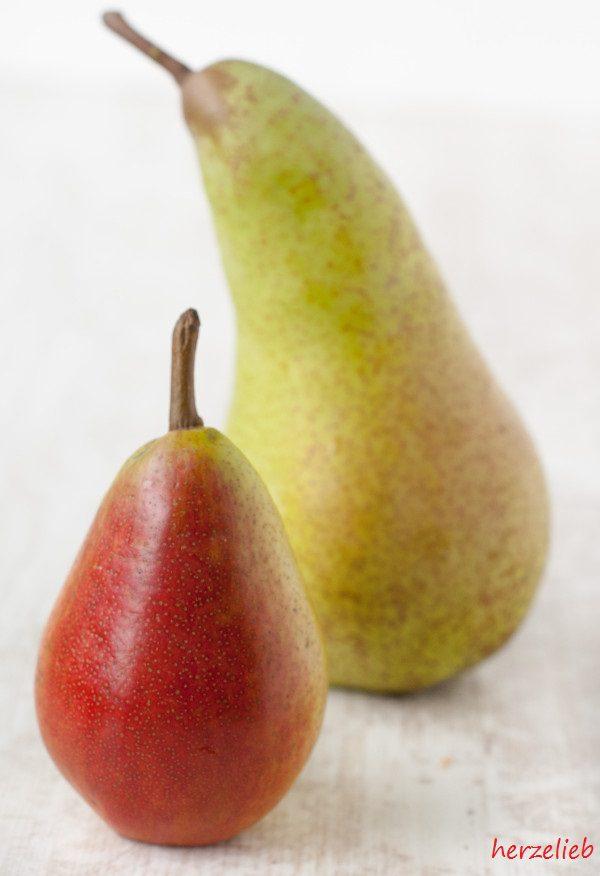 Kochbrinen sind kleiner als andere Birnen, sie sind steinhart und sind nur gekocht genießbar
