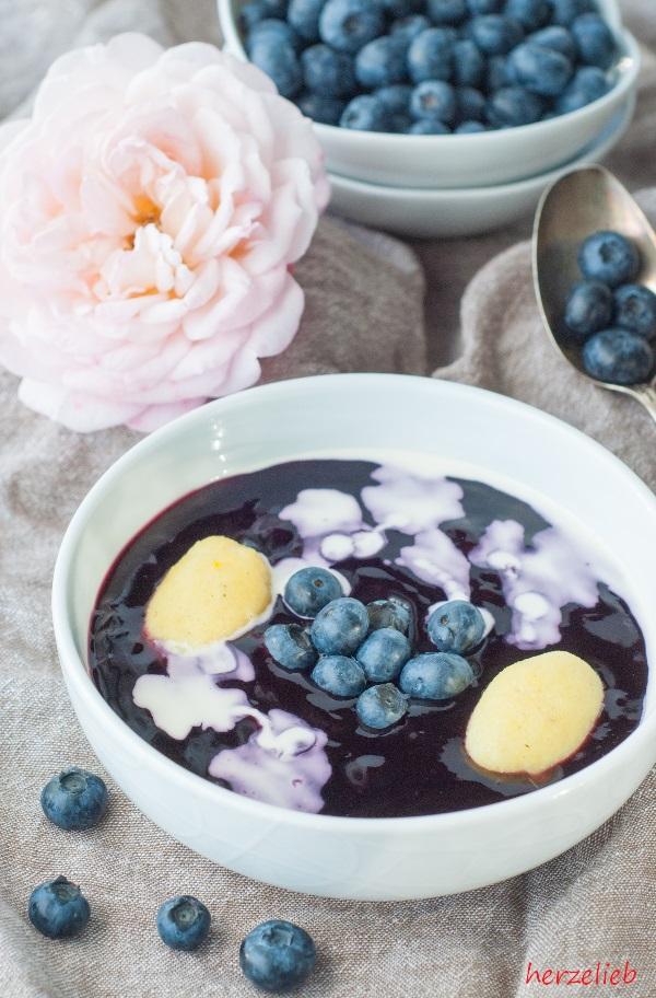 Schwedische Blaubeersuppe - ein Rezept zum Verlieben