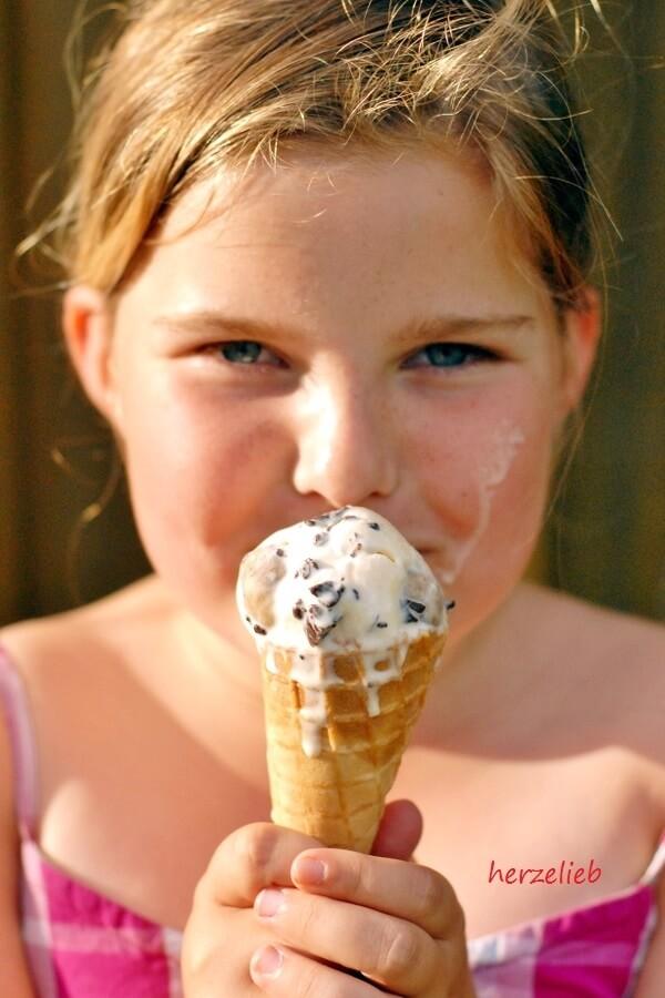 Cookie Dough Vanille Eis selber machen nach diesem Rezept