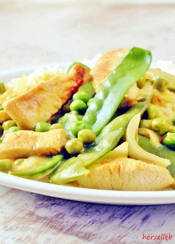 Erbsen-Curry - frisch, knackig und unbeschreiblich köstlich!