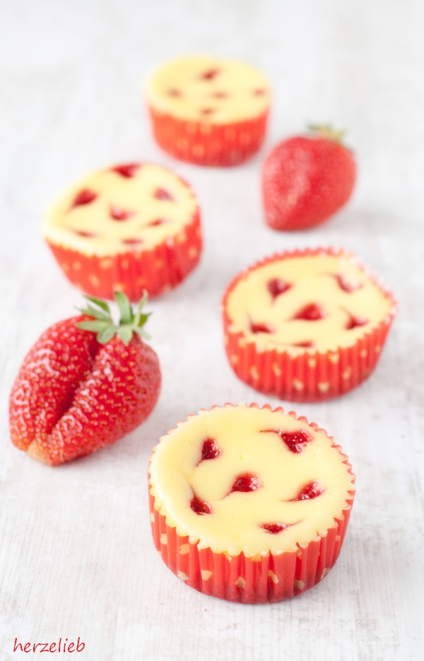 Kasekuchen Muffins Rezept Zum Valentinstag Oder Muttertag