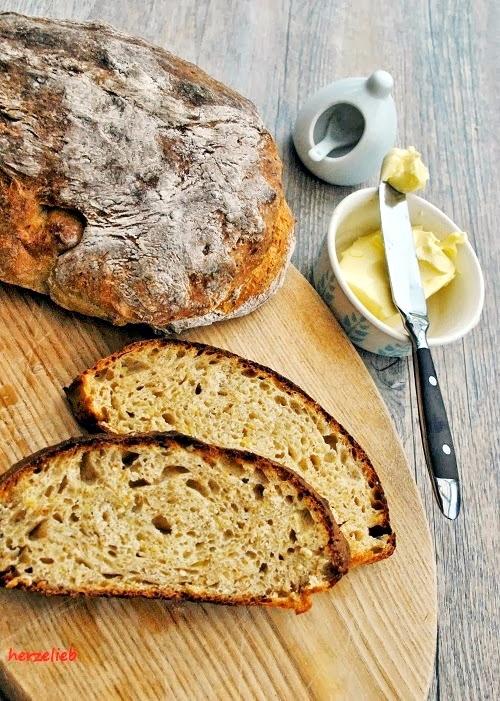 Dinkel-Kartoffelbrot, mein Rezept für Brotliebe. https://herzelieb.de