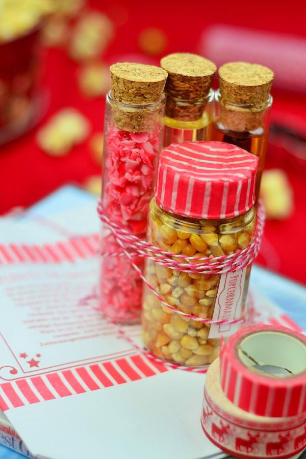 Ein Geschenk in letzter Minute - Popcorn-Kit
