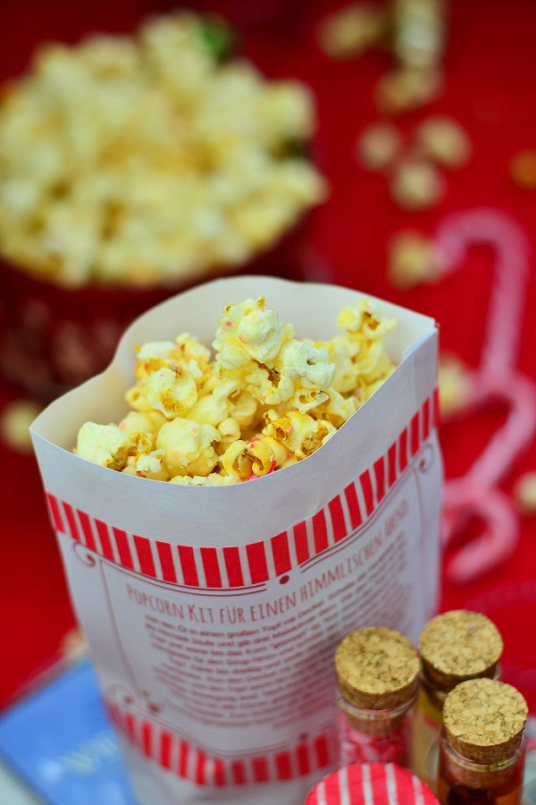 Selbstgemachtes Popcorn , Rezept