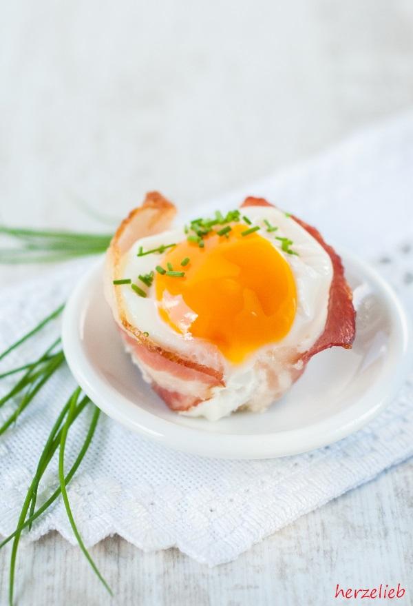Speck-Ei-Muffins sind ideal zum Frühstück, zum Abendbrot oder für ein Buffet.