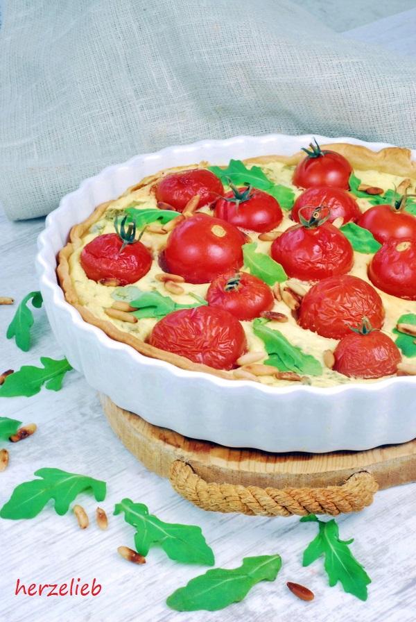 Tomatentarte - ein Rezept aus der Improvisationsküche