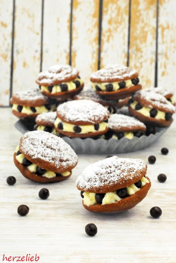 Buttermilch Whoopie Pies Mit Zitronencreme Ein Besonderes Kuchen