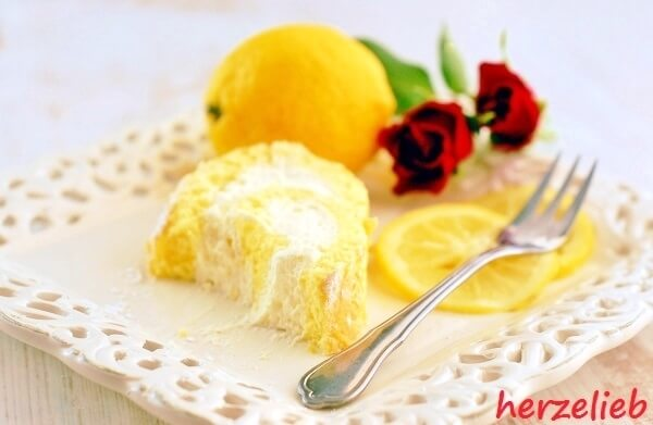 Zitronenrolle - da bleibt nichts übrig!
