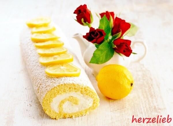 Zitronenrolle - schnell, einfach, gut!