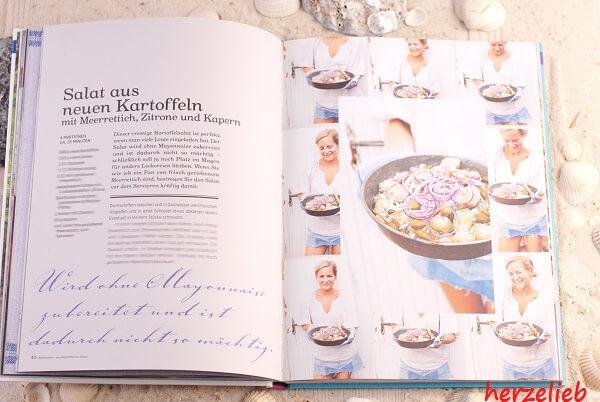 """Zum Grillen gibt es jetzt Beilagen aus dem Buch """"Mein Grillvergnügen"""" bei herzelieb"""