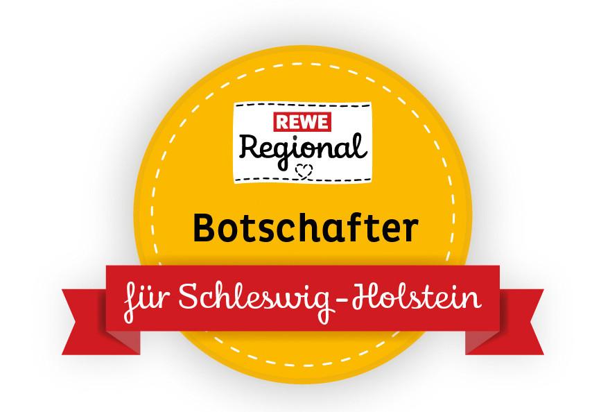 herzelieb ist Rewe Regional Botschafter für Schleswig-Holstein