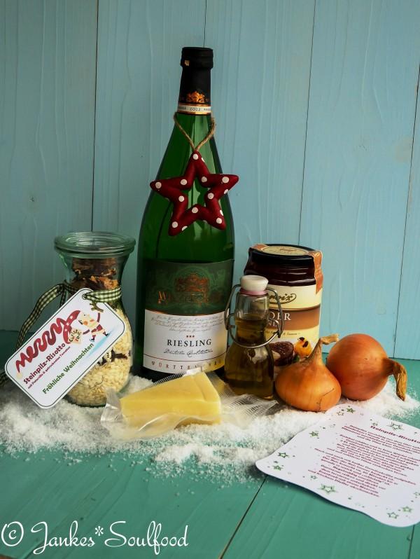 Geschenkidee aus der Küche: Selbstgemachte Risotte, Rezept und Download