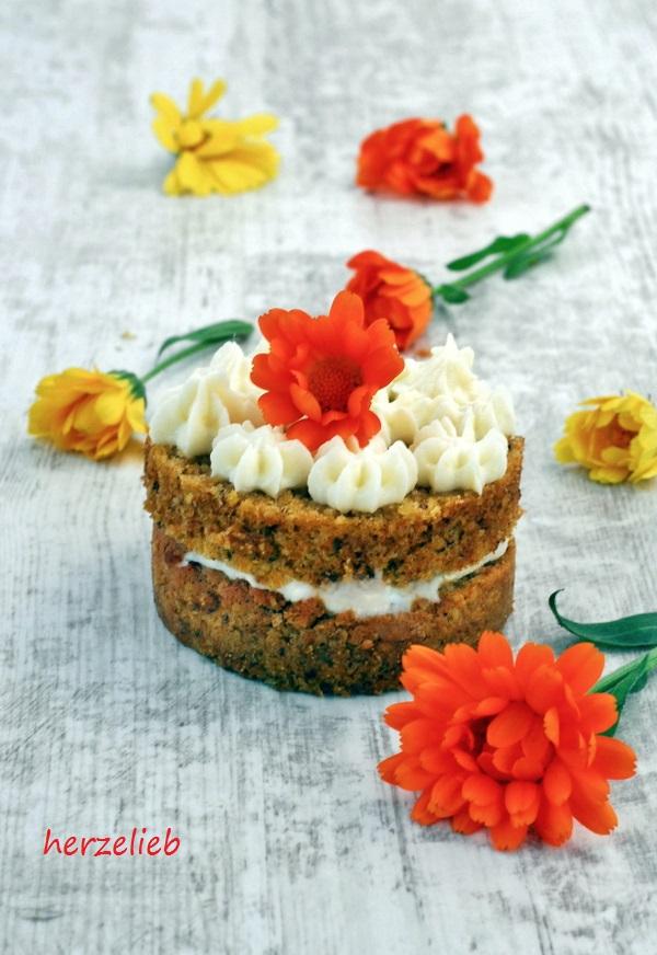 schwedischer Möhrenkuchen Rezept Morotskaka herzelieb